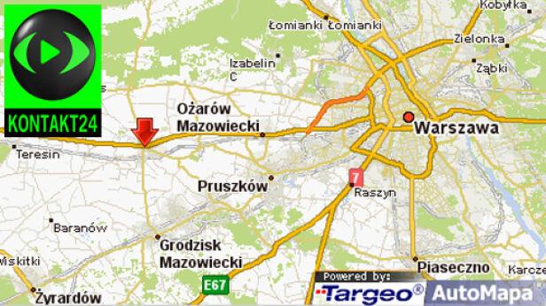 Miejsce wypadku targeo.pl