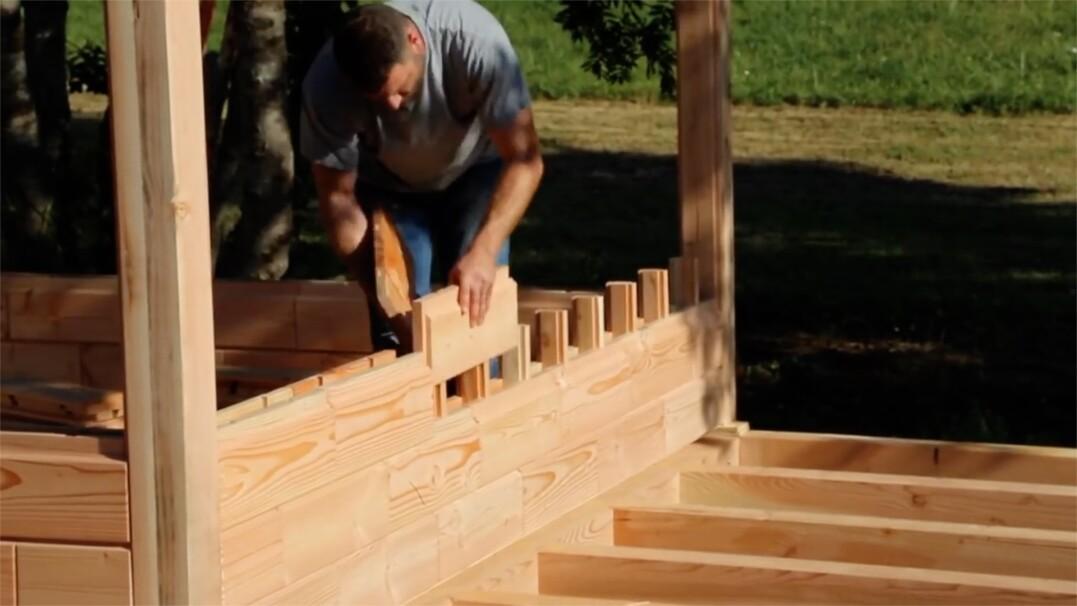 Wybuduj sobie dom bez użycia gwoździ