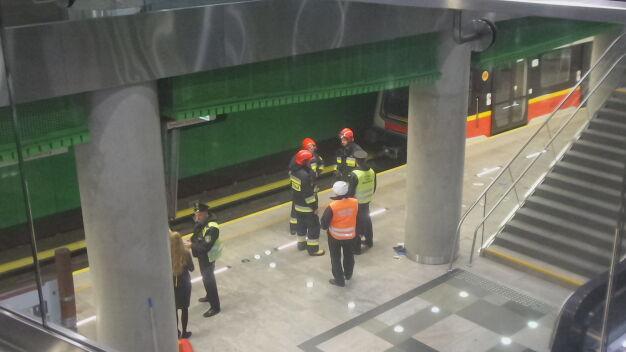 Wypadek na stacji II linii metra