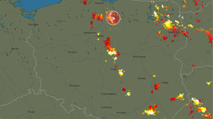 Front nad Polską. Sprawdź, gdzie jest burza