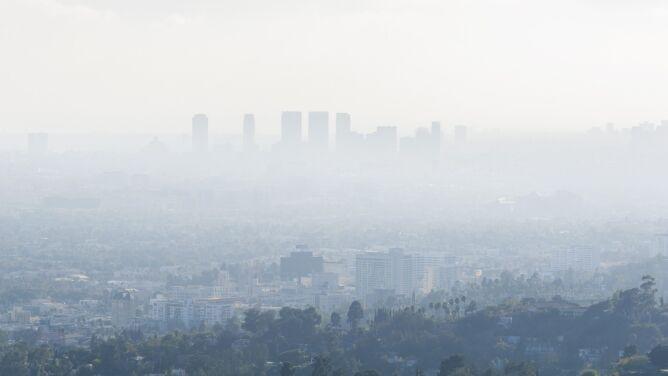 Smog i sadza męczą USA. 40 procent mieszkańców cierpi z powodu zanieczyszczonego powietrza