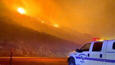 Kalifornia w ogniu (PAP/EPA/MIKE ELIASON/SANTA BARBARA COUNTRY FIRE DEPARTMENT)