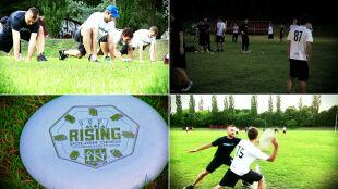 Frisbee drużynowo. Jak w to grać?