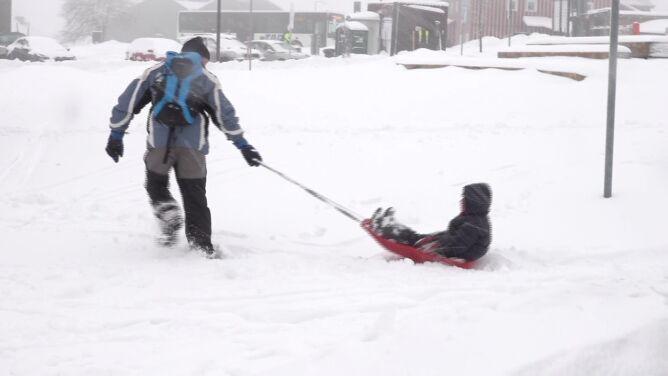 """""""W końcu jest śnieg, pięknie się chodzi, warunki są doskonałe"""""""
