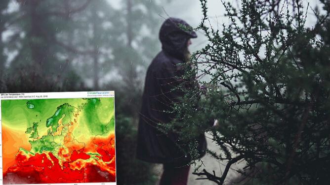 Bruzda niskiego ciśnienia dostarczy sporo wilgoci. <br />Przed nami chłodne i deszczowe dni
