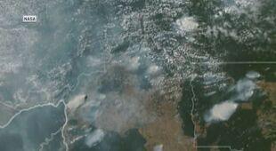 Pożary w Amazonii w 2019 roku (zdjęcia satelitarne NASA)