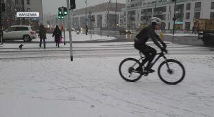 Zimowa aura w Warszawie (wideo z 10 grudnia)