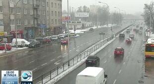 Warunki drogowe w Polsce, raport z poranka (TVN24)